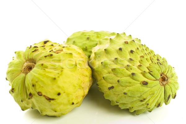 Delicioso fruta tropical blanco verde tropicales frescos Foto stock © vtupinamba