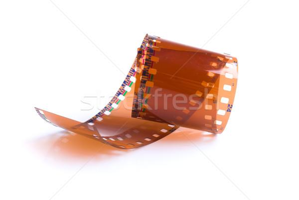フィルムストリップ 白 映画 フレーム レトロな 写真 ストックフォト © vtupinamba