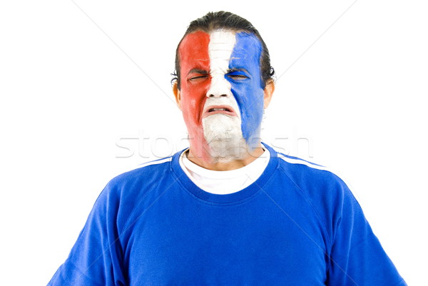 Sad French Supporter Stock photo © vtupinamba