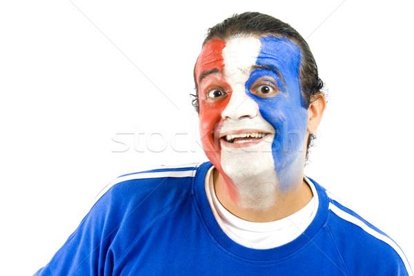 French Supporter Stock photo © vtupinamba