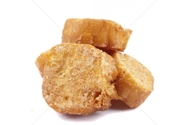 Delicioso dulce pan blanco desayuno postre Foto stock © vtupinamba