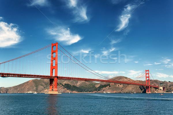 Golden Gate Bridge San Francisco famoso ver Califórnia EUA Foto stock © vwalakte