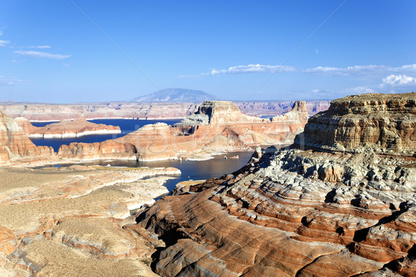landscape of the lake Powell, Stock photo © vwalakte