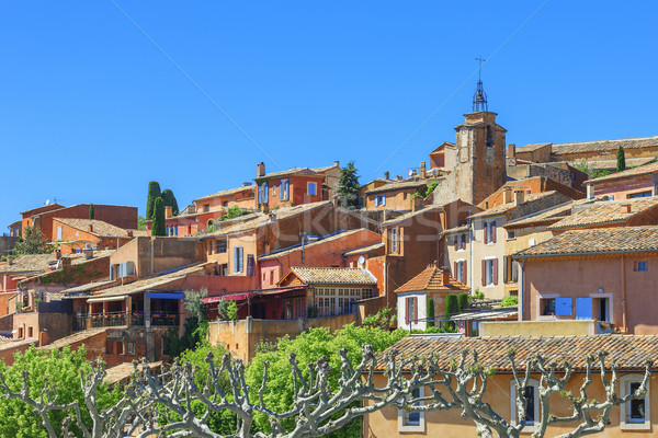 Roussillon village Stock photo © vwalakte