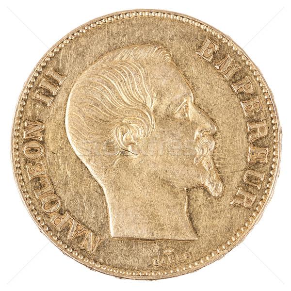 有名な 金貨 古い フランス語 通貨 ビジネス ストックフォト © vwalakte