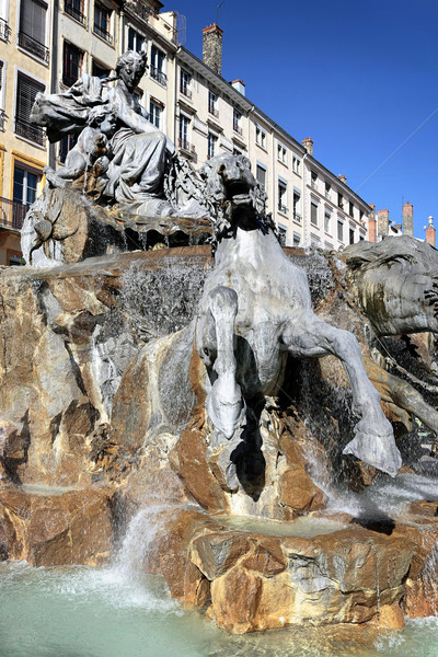 famous Place des Terreaux  Stock photo © vwalakte