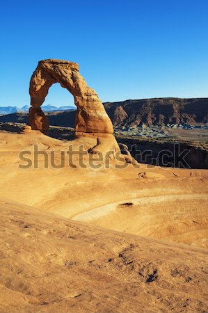 famous Delicate Arch Stock photo © vwalakte