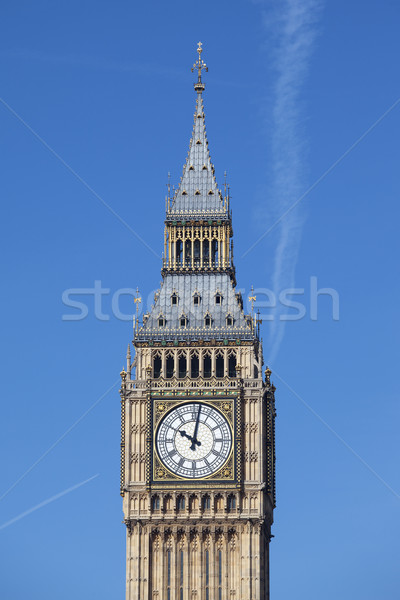 Big Ben with blue sky Stock photo © vwalakte