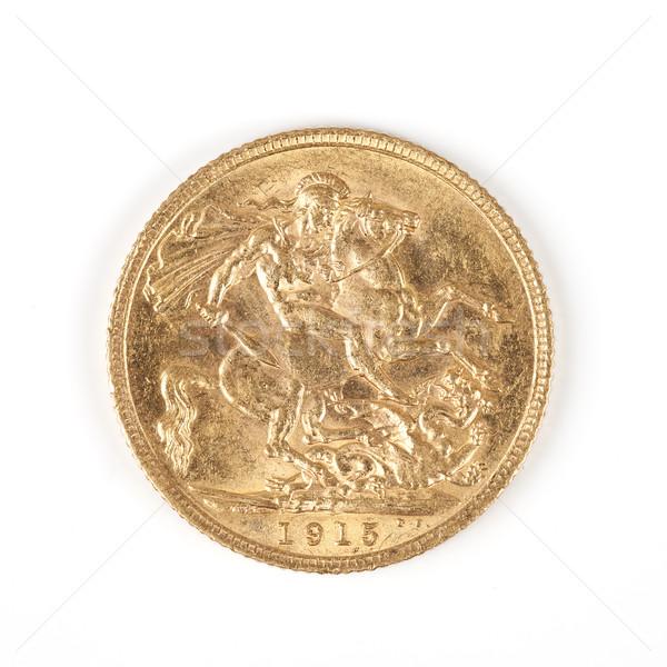 gold Sovereign Stock photo © vwalakte