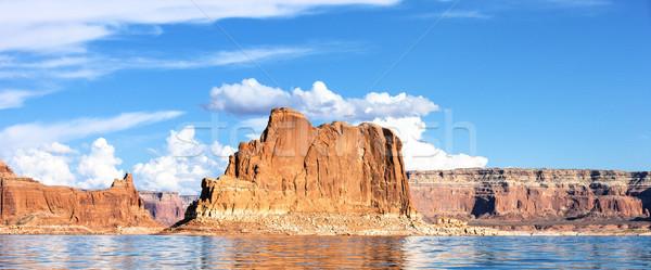 Panoramic Lake Powell Stock photo © vwalakte
