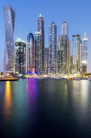 Дубай марина towers Объединенные Арабские Эмираты мнение район Сток-фото © vwalakte