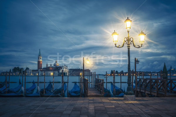View of Grand Canal on a cloudy day Stock photo © vwalakte