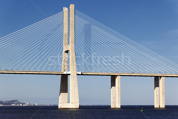 Vasco da Gama bridge Stock photo © vwalakte