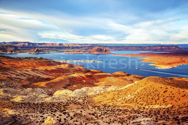 Port on Lake Powell Stock photo © vwalakte
