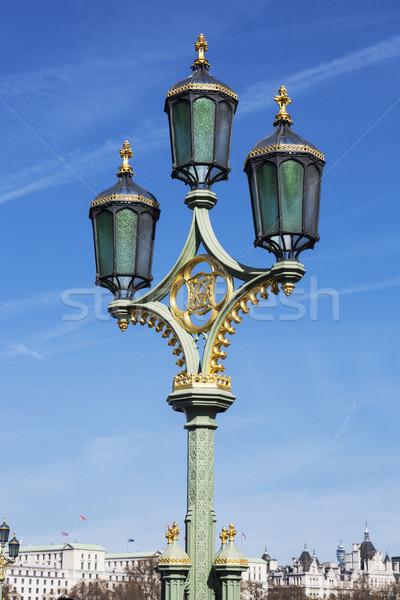 Vintage street lantern Stock photo © vwalakte