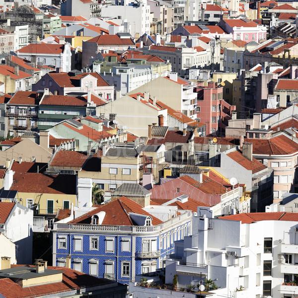 Lisboa arquitetura Portugal cidade fundo viajar Foto stock © vwalakte