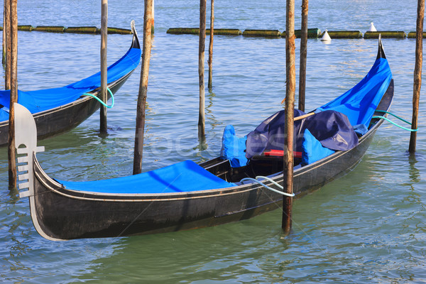 gondolas in Venice Stock photo © vwalakte