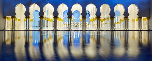Part of Abu Dhabi mosque Stock photo © vwalakte