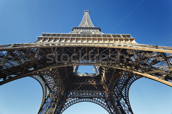under the Eiffel Tower Stock photo © vwalakte