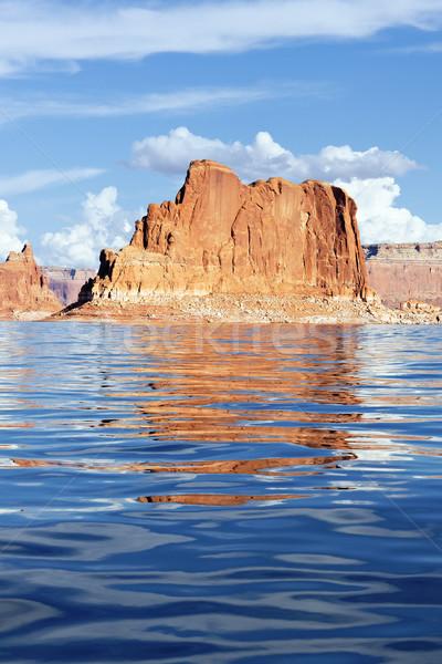 Lake Powell rock Stock photo © vwalakte