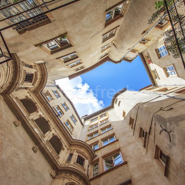 Noto view Lione città Francia costruzione Foto d'archivio © vwalakte