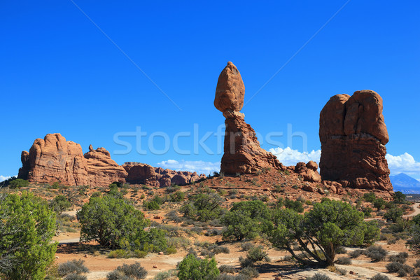 Rock formations Stock photo © vwalakte