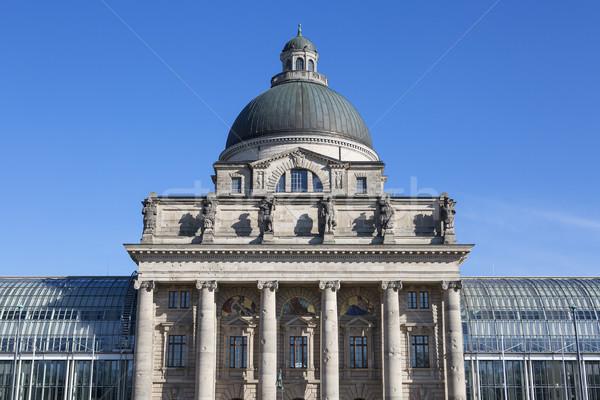 Edifício Munique Alemanha arquitetura turismo ponto de referência Foto stock © vwalakte