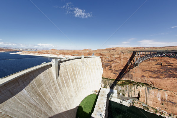 the Glen Dam and bridge in Page Stock photo © vwalakte