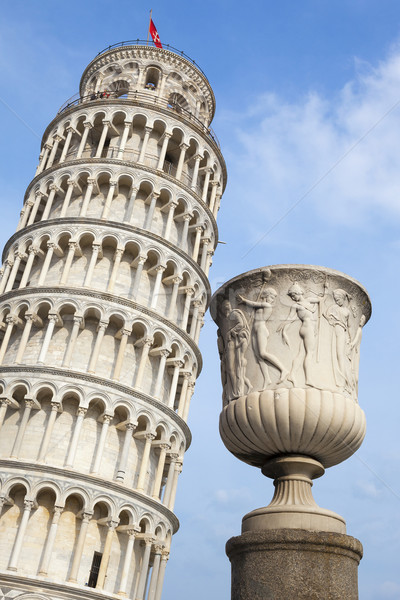 Leaning Tower of Pisa in Tuscany Stock photo © vwalakte