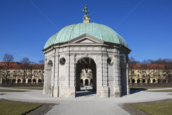 Münih Almanya Avrupa şehir seyahat mimari Stok fotoğraf © vwalakte