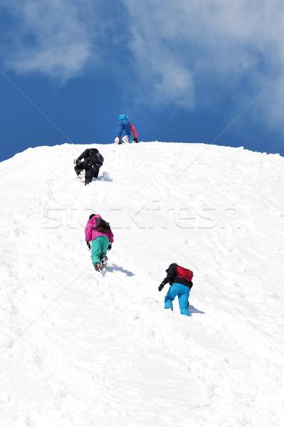 Towards summit  Stock photo © vwalakte