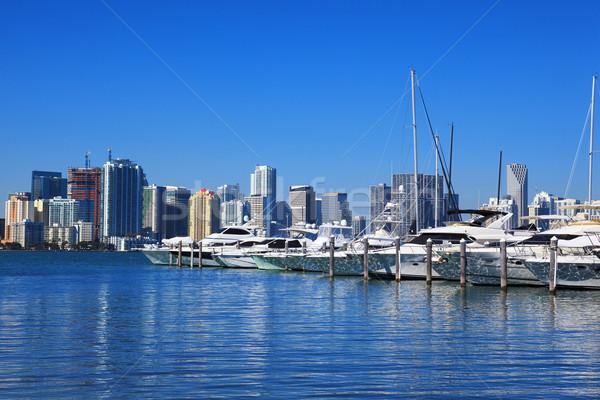 Downtown Miami, Florida  Stock photo © vwalakte
