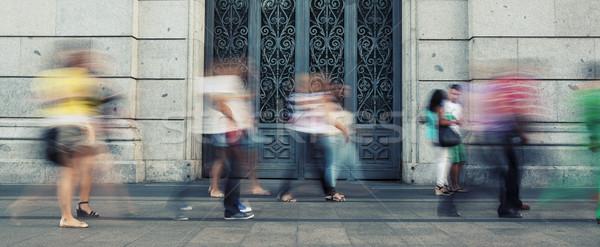 people walking Stock photo © vwalakte