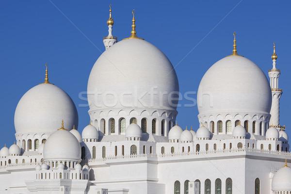 мечети Абу-Даби дизайна зеленый молитвы религии Сток-фото © vwalakte