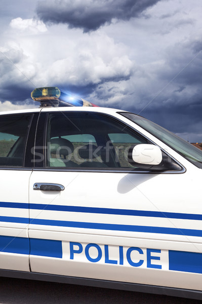 Part of cop car Stock photo © vwalakte