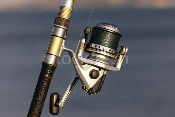 fishing reel with sunlight Stock photo © vwalakte