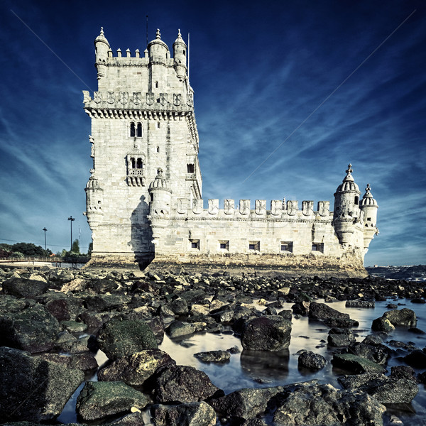 famous Tower of Belem Stock photo © vwalakte