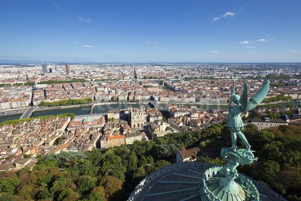 Lyon topo França europa Foto stock © vwalakte