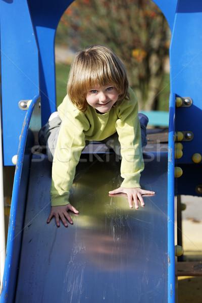 Zdjęcia stock: Przygoda · dziecko · mały · gry · kolorowy · szczęśliwy