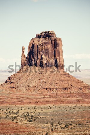 Monument Valley with special photographic processing Stock photo © vwalakte