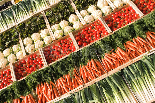 fresh vegetables Stock photo © vwalakte