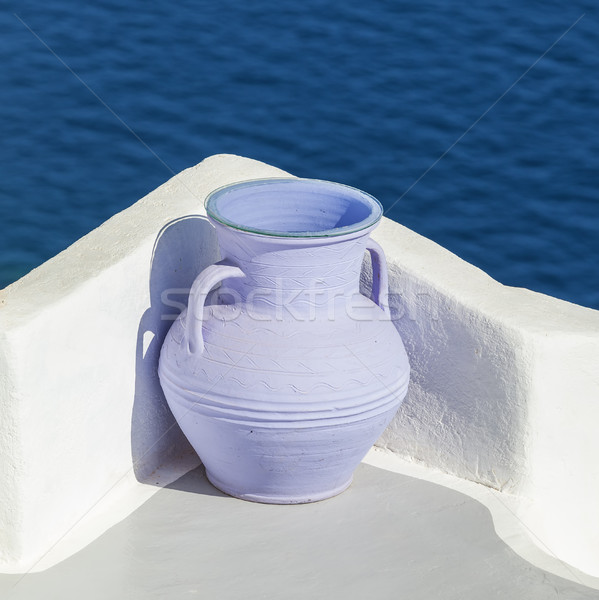 greek amfora Stock photo © vwalakte