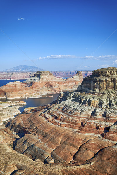 vertical view of the lake Powell, Stock photo © vwalakte