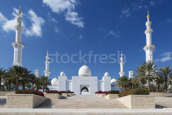 Sheikh Zayed Grand Mosque  Stock photo © vwalakte