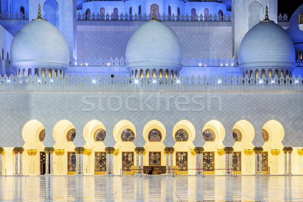 Mosque by night Stock photo © vwalakte