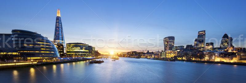london skyline Stock photo © vwalakte