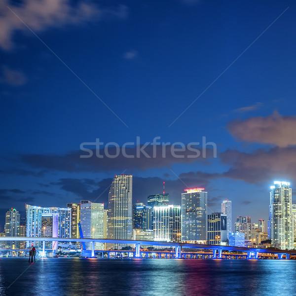 Blue Miami Stock photo © vwalakte