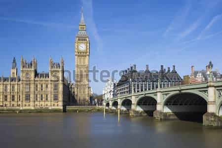 Famous view of Big Ben Stock photo © vwalakte