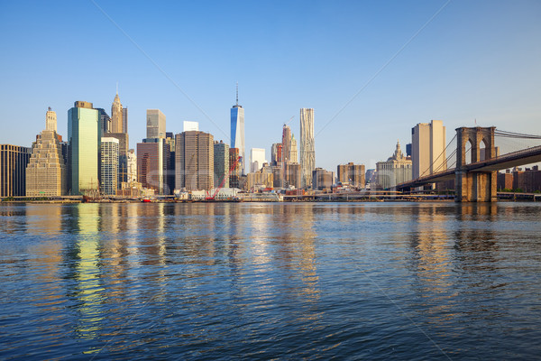 Manhattan, New York  Stock photo © vwalakte