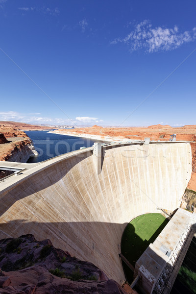 famous Glen Dam in Page Stock photo © vwalakte